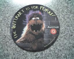 Avenue Q mouse mat